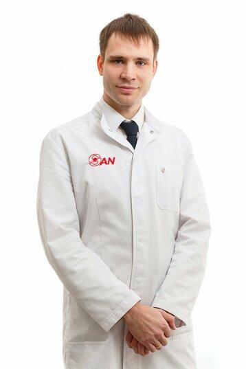 Нарколог, реаниматолог Воронцов Михаил Васильевич